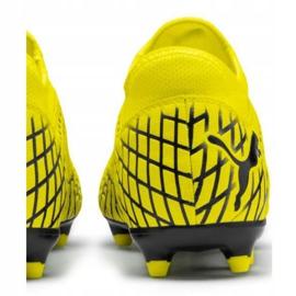 Buty piłkarskie Puma Future 4.4 Fg Ag M 105613 03 żółte żółte 4