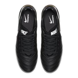 Buty piłkarskie Nike Tiempo Mystic V Fg czarne czarne 4