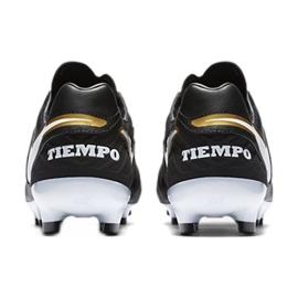 Buty piłkarskie Nike Tiempo Mystic V Fg czarne czarne 5
