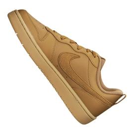 Buty Nike Court Borough Low 2 (GS) Jr BQ5448-700 brązowe 1