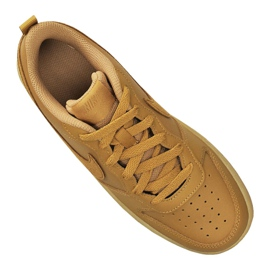Buty Nike Court Borough Low 2 (GS) Jr BQ5448-700 brązowe 2