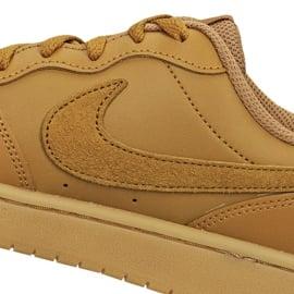 Buty Nike Court Borough Low 2 (GS) Jr BQ5448-700 brązowe 3