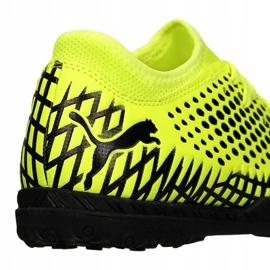 Buty piłkarskie Puma Future 4.4 Tt Jr 105699-03 żółte żółte 1