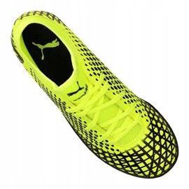 Buty piłkarskie Puma Future 4.4 Tt Jr 105699-03 żółte żółte 2