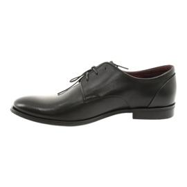 Półbuty pantofle skórzane Pilpol 1609 czarne 2