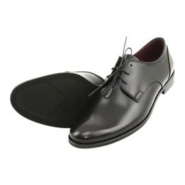 Półbuty pantofle skórzane Pilpol 1609 czarne 4