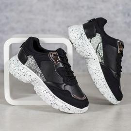Mckeylor Modne Sneakersy czarne 3