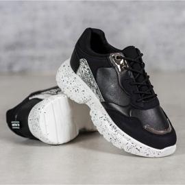 Mckeylor Modne Sneakersy czarne 1