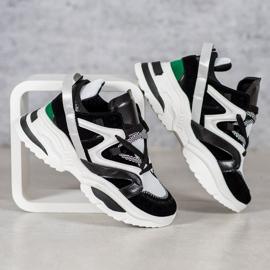 Modne Sneakersy VICES białe czarne wielokolorowe 1