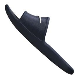 Klapki Nike Kawa Shower Gs Jr AQ0899-401 granatowe 3