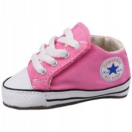 Buty Converse Chuck Taylor All Star Cribster Jr 865160C różowe 1