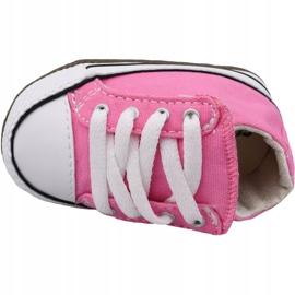 Buty Converse Chuck Taylor All Star Cribster Jr 865160C różowe 2