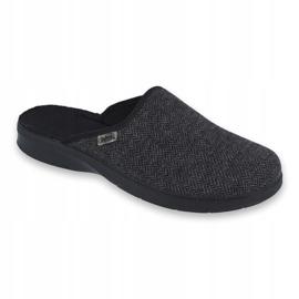 Befado obuwie męskie pu 548M022 szare 1