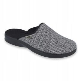 Befado obuwie męskie pu 548M023 szare 1
