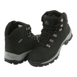Buty Trekkingowe wiązane czarne Atletico 57089 4
