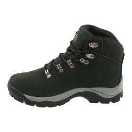 Buty Trekkingowe wiązane czarne Atletico 57089 2