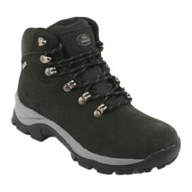 Buty Trekkingowe wiązane czarne Atletico 57089 1