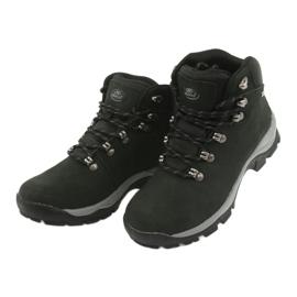 Buty Trekkingowe wiązane czarne Atletico 57089 3