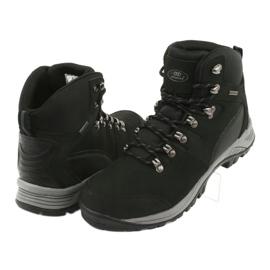 Buty Trekkingowe wiązane czarne Atletico 66176 4