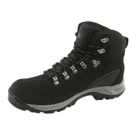 Buty Trekkingowe wiązane czarne Atletico 66176 2