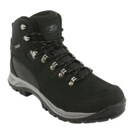 Buty Trekkingowe wiązane czarne Atletico 66176 1