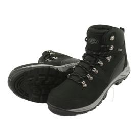 Buty Trekkingowe wiązane czarne Atletico 66176 5