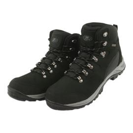 Buty Trekkingowe wiązane czarne Atletico 66176 3