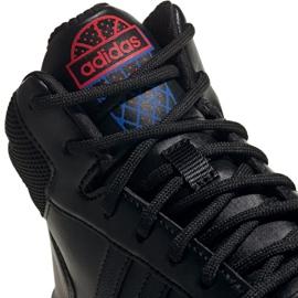 Buty adidas Hoops Mid 2.0 Jr EE8547 czarne 3