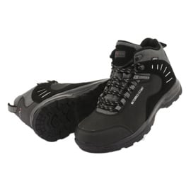 Trekkingowe wiązane czarne MtTrek 011 4
