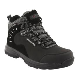 Trekkingowe wiązane czarne MtTrek 021B 1