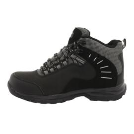 Trekkingowe wiązane czarne MtTrek 021B 2