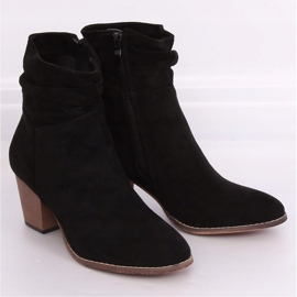 Botki kowbojki czarne E2250 Black 1