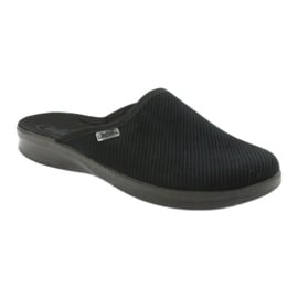 Befado obuwie męskie pu 548M020 czarne 2