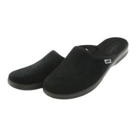 Befado obuwie męskie pu 548M020 czarne 4