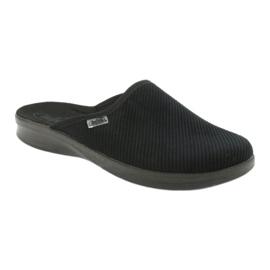 Befado obuwie męskie pu 548M020 czarne 1