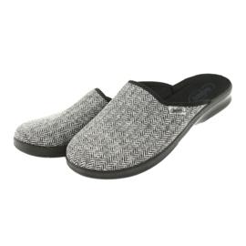 Befado obuwie męskie pu 548M023 szare 4