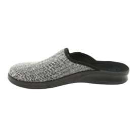 Befado obuwie męskie pu 548M023 szare 3