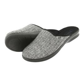 Befado obuwie męskie pu 548M023 szare 5