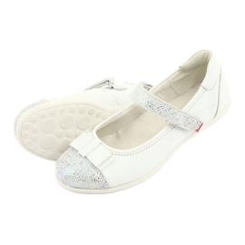 Befado buty dziecięce balerinki 170Y019 białe 4