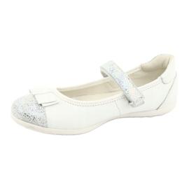 Befado buty dziecięce balerinki 170Y019 białe 2