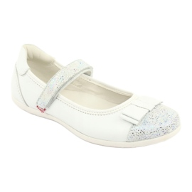 Befado buty dziecięce balerinki 170Y019 białe 1
