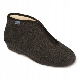 Befado obuwie damskie pu 041D052 szare 1