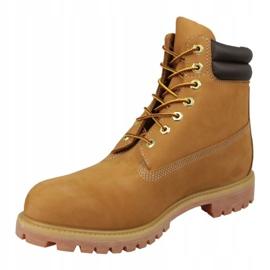 Buty zimowe Timberland 6 Inch Boot M 73540 żółte 1