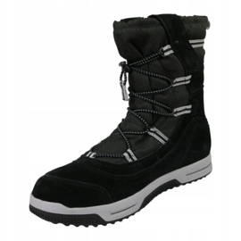 Buty zimowe Timberland Snow Stomper Pull On Wp Jr A1UIK czarne 1
