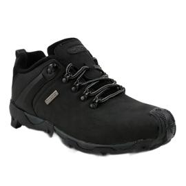 Czarne obuwie trekkingowe MXC-6645 1