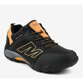 Czarne obuwie trekkingowe 103A 1