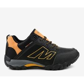 Czarne obuwie trekkingowe 103A 2