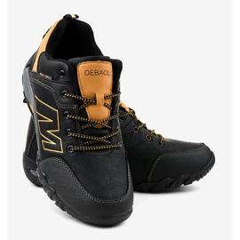 Czarne obuwie trekkingowe 103A 3