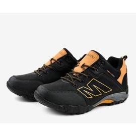 Czarne obuwie trekkingowe 103A 4