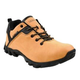 Żółte obuwie trekkingowe 2019B 4